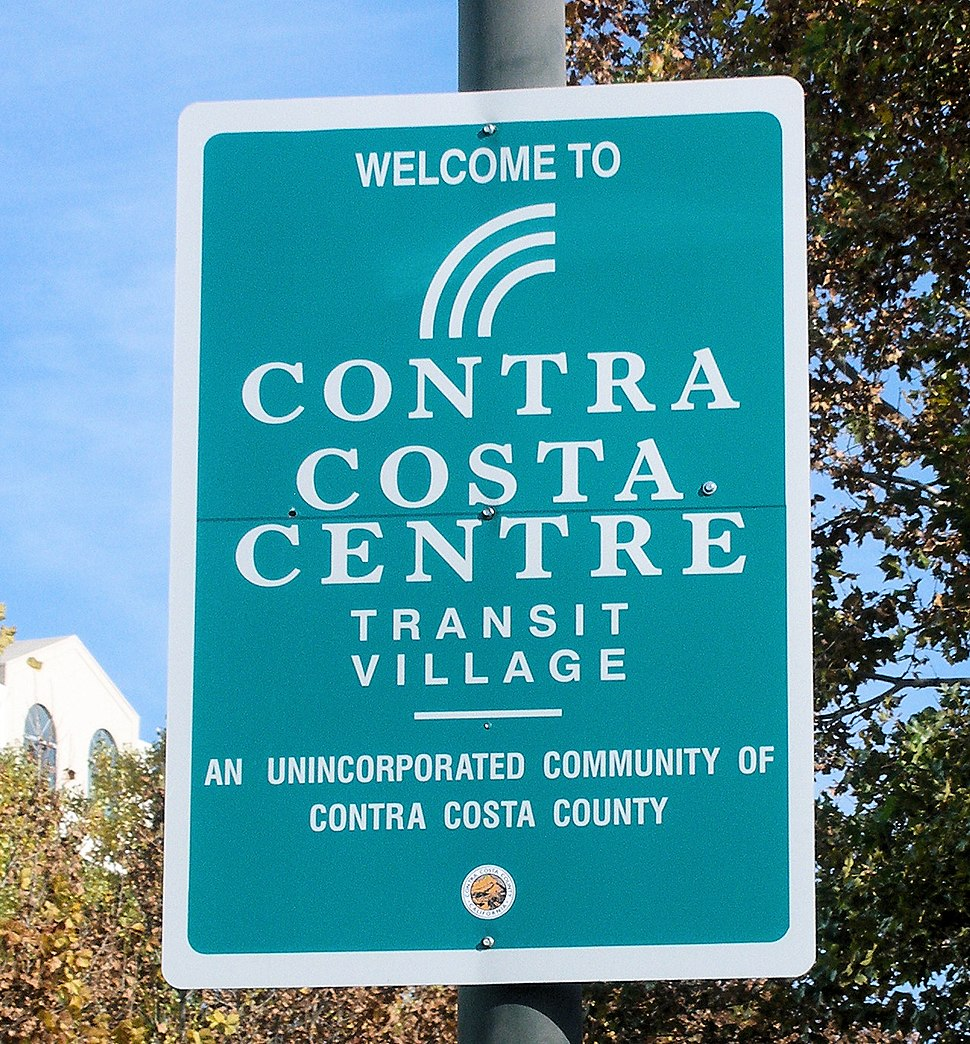 Contra Costa Centre sign