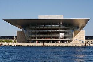 Copenhagen Opera House - front view