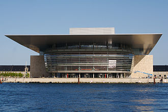 Copenhagen Opera House - The front façade
