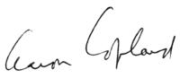 подпись, написанная чернилами плавным шрифтом