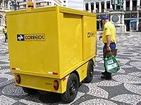 Postal truck in Brazil