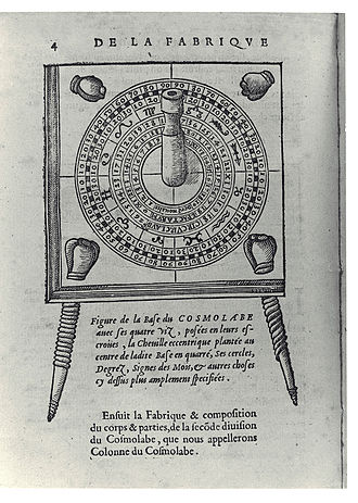 Cosmolabe - Cosmolabe by Jacques Besson, 1567