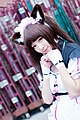 Cosplayer of Chocola, Nekopara at FF29 20170212e.jpg