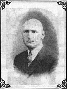 Photo of early 20th-century politician Costache Leancă