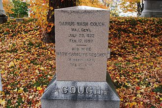 Darius N. Couch - Couch Gravesite in Mount Pleasant Cemetery
