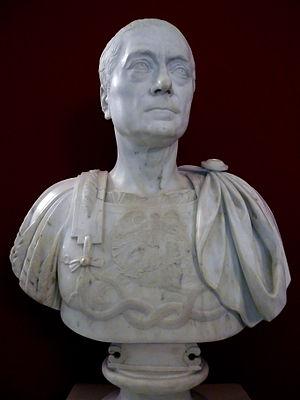 Franz Moritz von Lacy - Marble bust of Franz Moritz von Lacy by Giuseppe Ceracci.