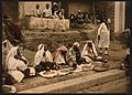 Couscous sellers and an Arab cafe, Tunis, Tunisia-LCCN2001699403.jpg