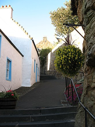 Pittenweem - Cove Wynd – a typical alley in Pttenweem