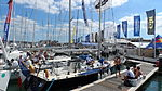 Cowes Yacht Haven during Cowes Week 2013.JPG