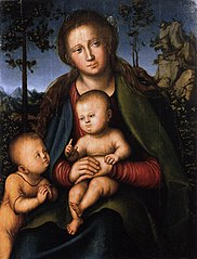 Madonna with Child with Young John the Baptist