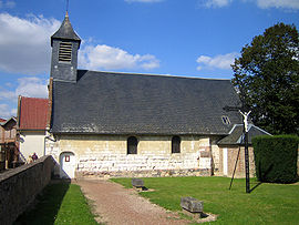 The church in Creuse