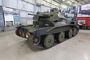 Cruiser Mk III - Cruiser Mark III A13 at The Tank Museum