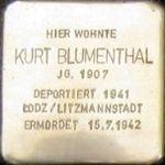 Cuxhaven Stolperstein Kurt Blumenthal.jpg