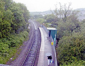 Cwmbach railway station - Image: Cwmbach Station geograph.org.uk 1827970