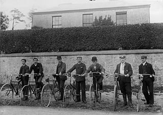 Cyclists, Narberth