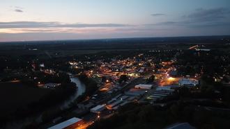 Cynthiana, Kentucky - City of Cynthiana at Sunset