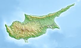 Mount Olympus (Cyprus) is located in Cyprus