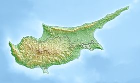 Frenaros is located in Cyprus