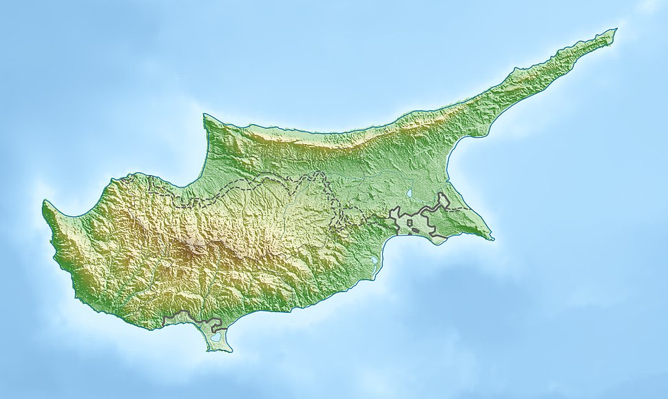 Nicosia is located in Cyprus