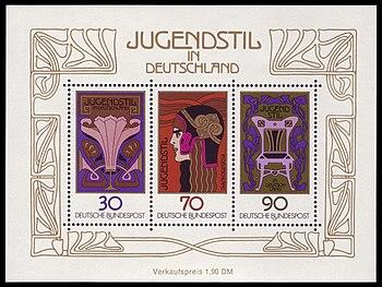 Briefmarken Jahrgang 1977 Der Deutschen Bundespost Wikipedia