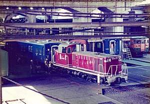 JNR Class DD16 - Image: DD16 36 Omiya Works 19940810