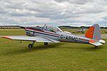 DHC1 Chipmunk 22A 'G-ARMG' (16611447119).jpg
