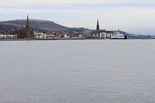 Largs town in North Ayrshire, Scotland