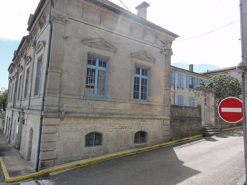 Dammarie-sur-Saulx (Meuse) école des garçons
