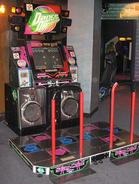 File:Dance Dance Revolution North American arcade machine 3.jpg