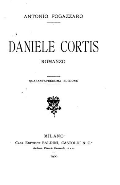 File:Daniele Cortis (Fogazzaro).djvu