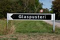 Danish road sign to a glass blowing artist.jpg
