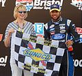 Darrell Wallace Jr. at Thunder Valley third take cropped.jpg