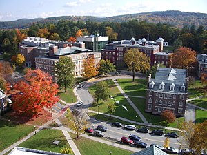 Matariki Network of Universities - Image: Dartmouth College campus 2007 10 20 09