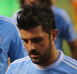 New York City FC - Spanish World Cup-winning forward David Villa is the team captain.