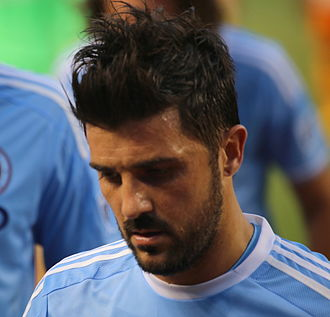 David Villa - Villa playing for New York City in 2015