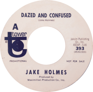 Dazed and Confused (song) Song popularized by Led Zeppelin