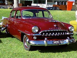 Chrysler Australia - Image: De Soto Diplomat Sedan
