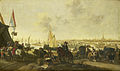 De verovering van de stad Hulst op de Spanjaarden, 5 november 1645 Rijksmuseum SK-A-251.jpeg
