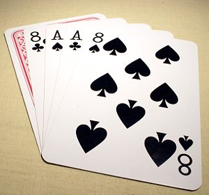 The Card Hand Purportedly Held By Wild Bill Hickok At The Time Of His Black Aces And Eights