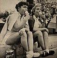 Debbie Reynolds & Lori Nelson, 1954.jpg