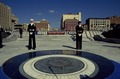 Dedication of the U.S. Navy Memorial on Pennsylvania Avenue in 1987. Washington, D.C LCCN2011632728.tif
