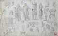 Dehodencq A. - Pencil - Etudes d'après l'antique - 19.8x30.9cm.jpg