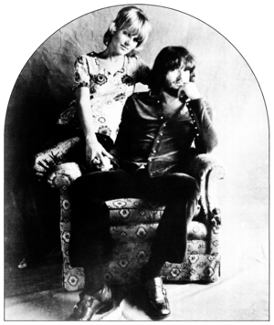 "Wah-Wah (song) - Delaney and Bonnie Bramlett, whose soul revue influenced the sound on ""Wah-Wah"", after Harrison had toured with them in December 1969"