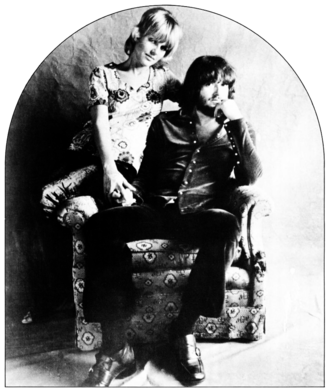 Delaney Bramlett - Delaney and Bonnie Bramlett in 1970