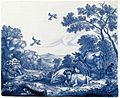 Delftware plaque with the Prophet Elijah fed by the Ravens.jpg