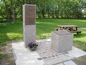 Jean Henri Desmercières - Memorial in honor of Jean Henri Desmercieres for his reclamation of Sophien-Magdalenen-Koog, Desmerciereskoog, and Elisabeth-Sopien-Koog