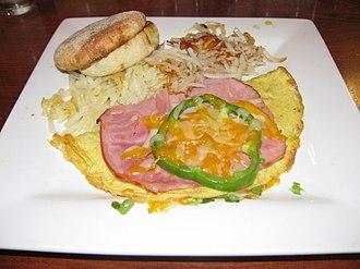 Omelette - Image: Denver Omelette