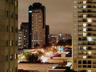 Cidade Limpa - After Cidade Limpa: Ibirapuera Ave. (March 2008)