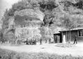 Der Wachtposten Kessiloch mit seinen Felsverzierungen - CH-BAR - 3239019.tif