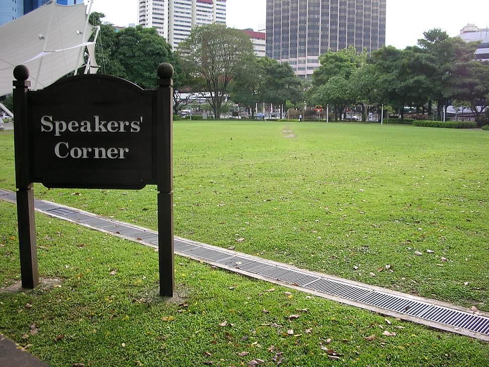 Deserted Speakers%27 Corner - Singapore (gabbe)